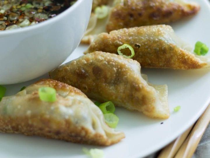 Vegetarian Shiitake Gyoza