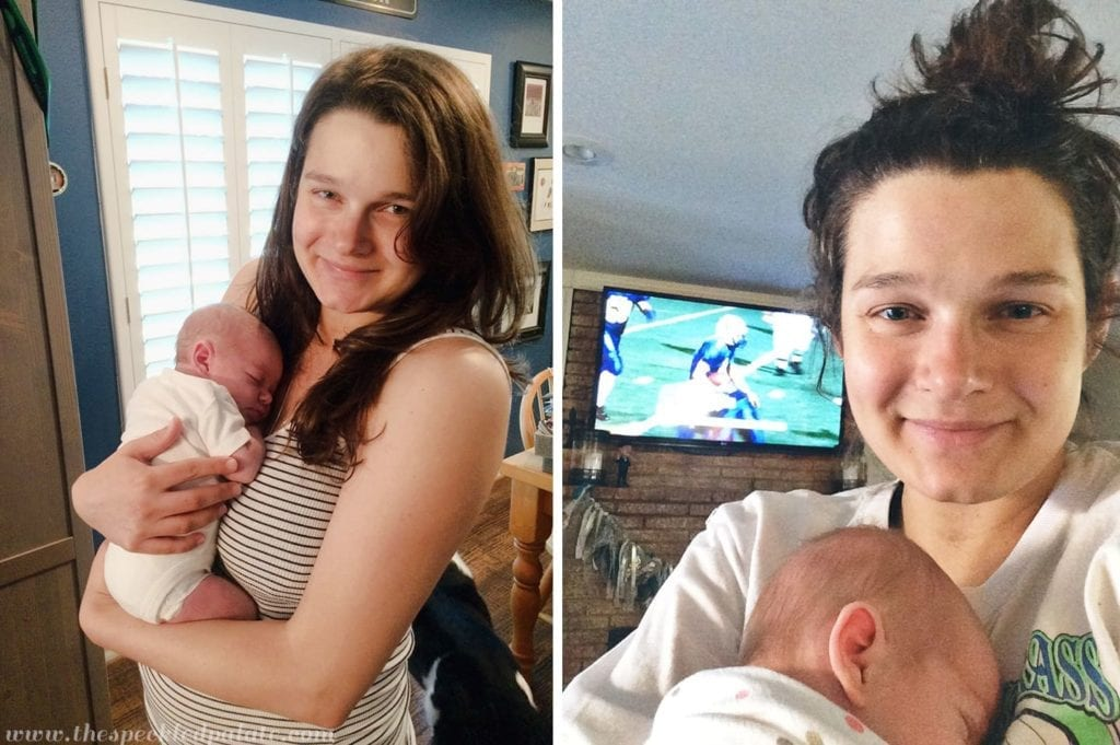 Sunday Snippets: The New Mama Edition // @speckledpalate