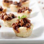 Mini Bourbon Chocolate Pecan Pies