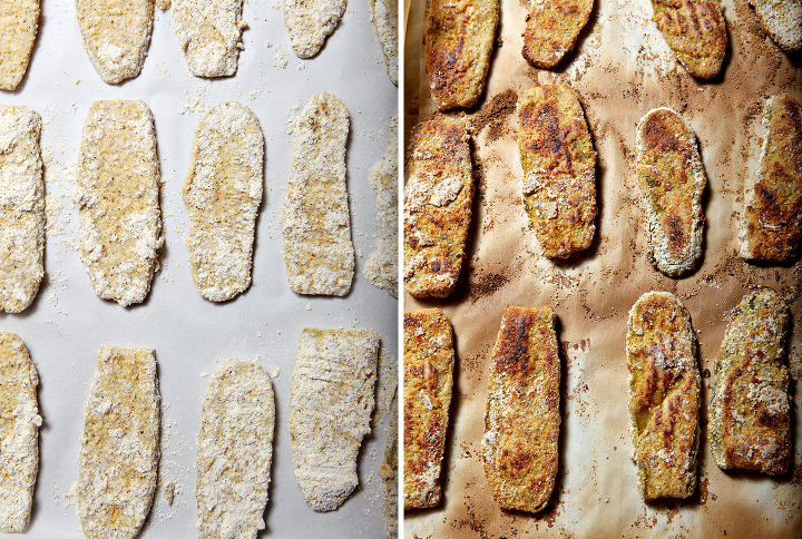 Oven Fried Pickles   Summertime calls for fried pickles... but frying pickles at home can be messy. Bake these Oven Fried Pickles for the same tasty effect, but with less mess and less grease! This recipe is sure to be a summertime favorite.
