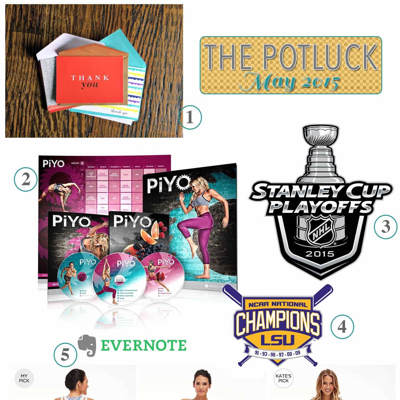 The Potluck: May 2015