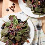 Blueberry Pecan Feta Salad