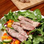 Steak and Sweet Pepper Salad
