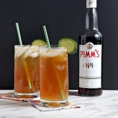Tart and delicious, the Pimm's Cup is a classic New Orleans cocktail. Made famous in the Big Easy at The Napoleon House in the 1940's, this summer drink is refreshing and perfect for cooling off after a warm day.