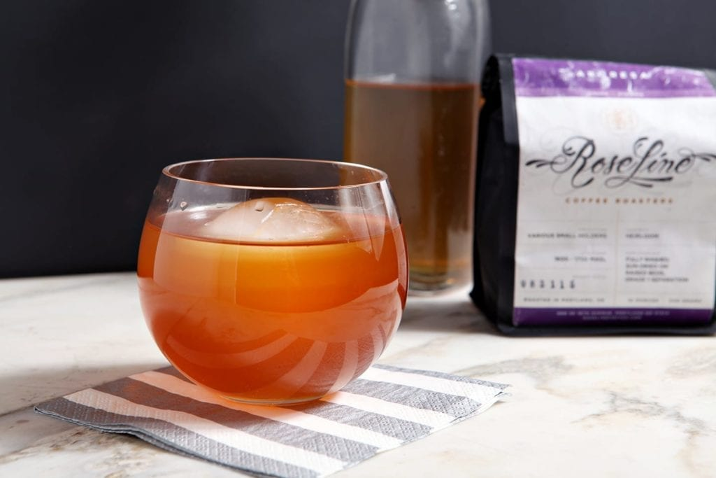 Slightly sweet and balanced, the African Sunrise is the perfect coffee cocktail for brunch! A spin on the traditional mimosa, it tastes like grapefruit with just a touch of the coffee's earthiness.