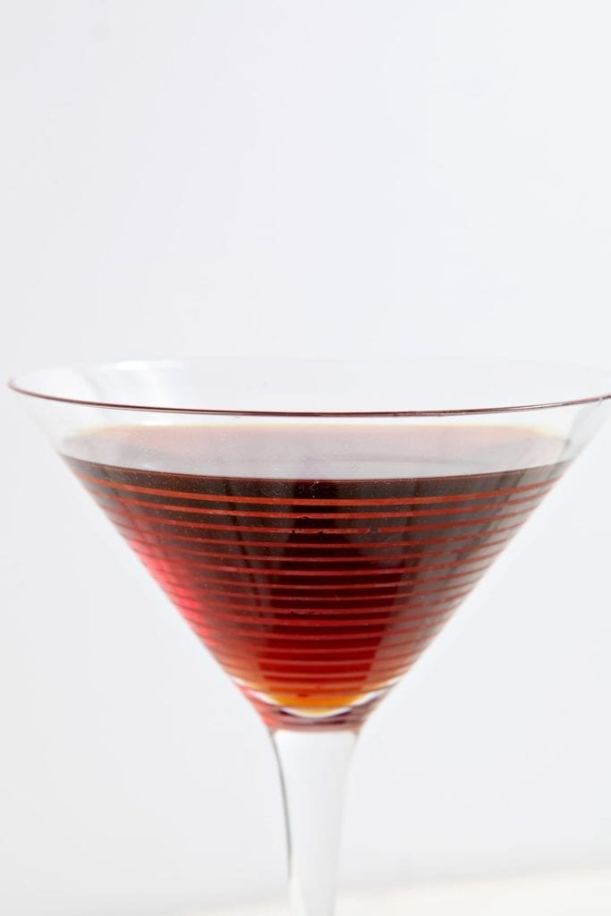 Light and sweet, the Siciliano is a perfect cocktail-hour aperitif that features sweet vermouth, cold brew coffee, simple syrup and club soda. Quick and easy to make, this coffee cocktail is sure to be a hit!
