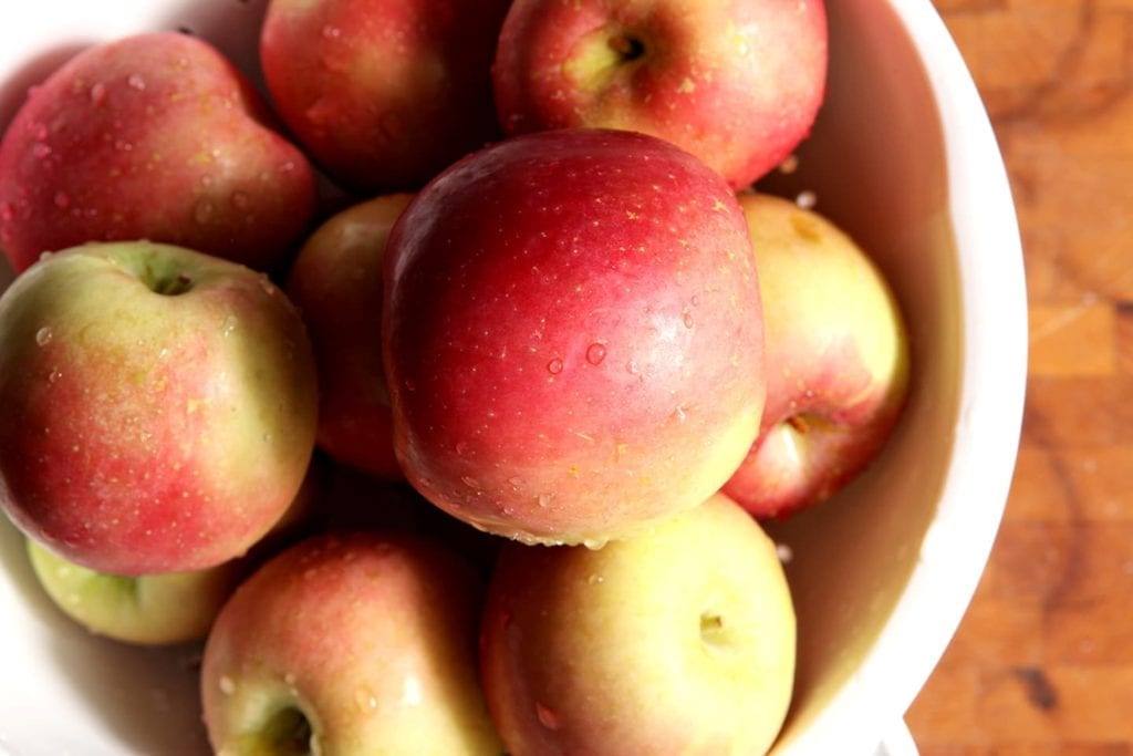 Naturally sweet and delicious, nothing is easier to make than Slow Cooker Applesauce. All you need are apples and some cinnamon if you're feeling fancy!