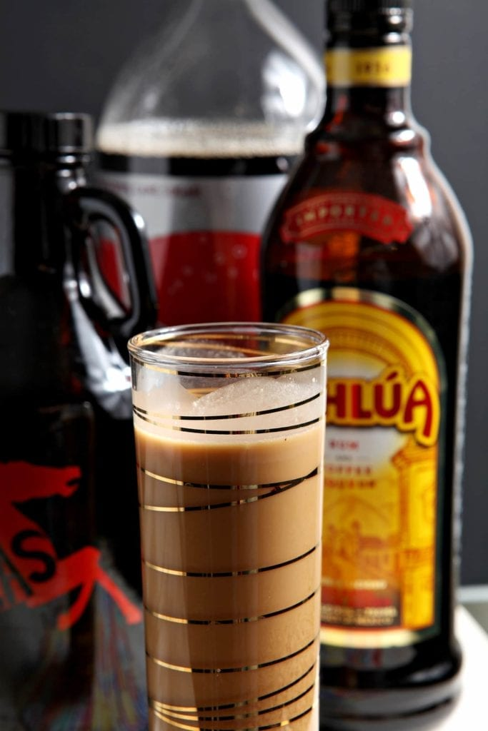 Creamy and delicious, the Melty Cold Brew Shake is the perfect dessert drink! This decadent coffee cocktail tastes like a melted boozy milkshake.