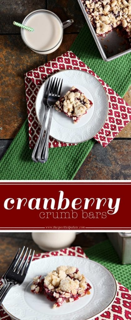 Erin's Recommended Tools/Products for Cranberry Crumb Bars
