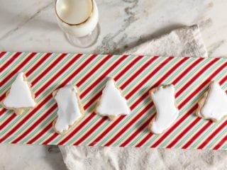 Sweet Potato Sugar Cookies with Fluffy Marshmallow Icing