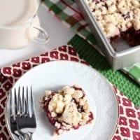 Dessert Recipe: Cranberry Crumb Bars