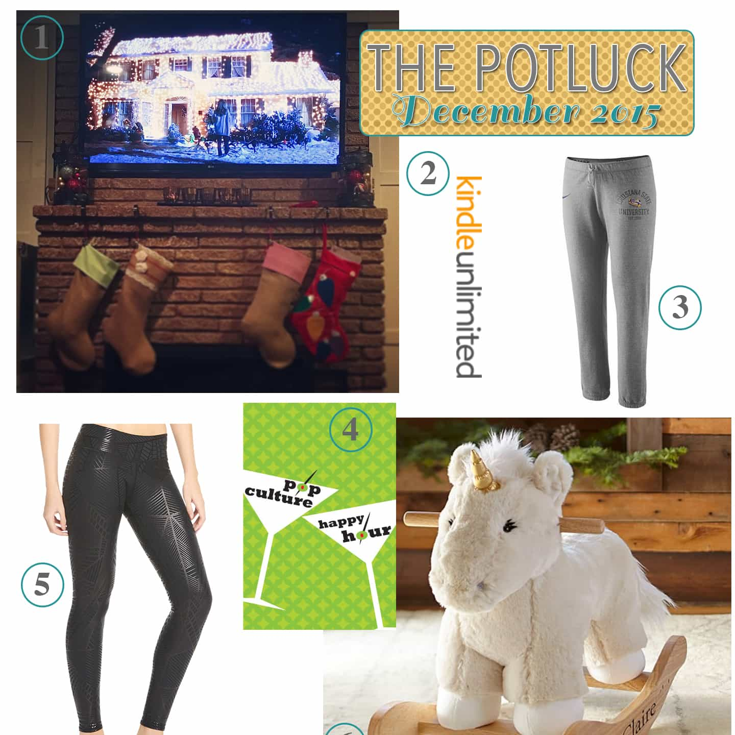The Potluck: December 2015 | Continuing the monthly tradition, The Potluck: December 2015 includes new traditions, two awesome pairs of pants, a podcast recommendation and more!