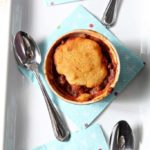 Chili Cornbread Pot Pies