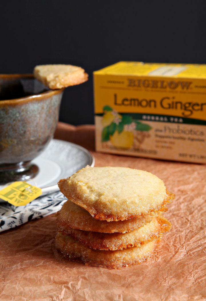 ... Honey Shortbread is the perfect accompaniment to a mug of Bigelow tea