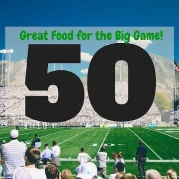 Looking for recipes to make for friends and family for a football party this February? Look no farther than these 50 Recipes for the Big Game, which capture appetizers, entrees, sides, desserts and drinks that will be perfect for a football game!