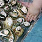 Grilled Zucchini Rollatini