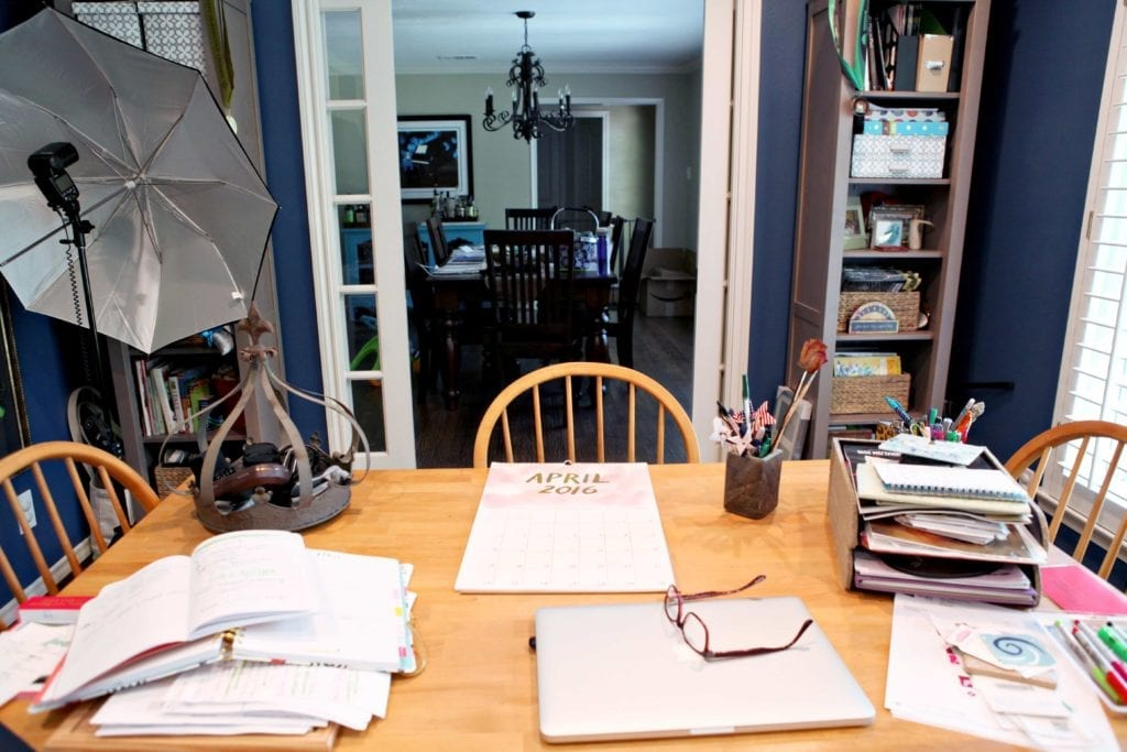 Learn a little more about The Speckled Palate in this year-long Behind The Blog Series! For the month of April, we are discussing our homes and workspaces. I am sharing my office and kitchen to shed some light on where I do most of my work for the blog.