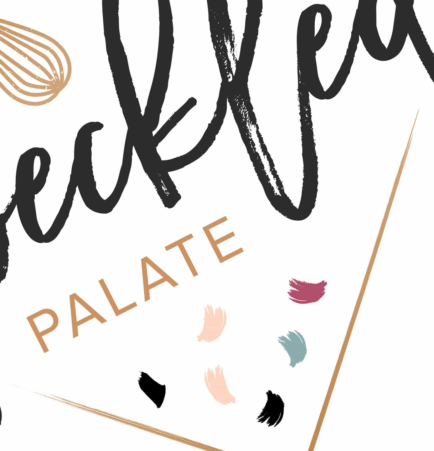 The Speckled Palate NEW Logo Sneak Peek // The Speckled Palate