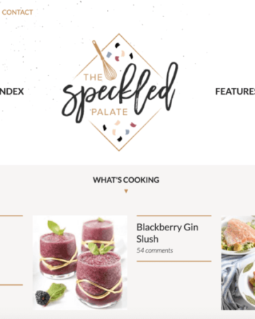 The New The Speckled Palate! (2016)