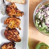 Thursday's Dinner: Grilled Chicken Shawarma