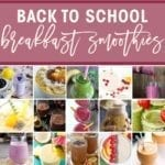 School is back in session, and everyone needs a healthy breakfast before they head out the door. Shake up your usual morning routine with a breakfast smoothie! The Speckled Palate has compiled a list of 45 unique smoothies and broken them down by key ingredient and category, so you can easily find the recipes that will make your tastebuds happy. Breakfast smoothies are such an easy, healthy and delicious way to start the day. Gotta try these!