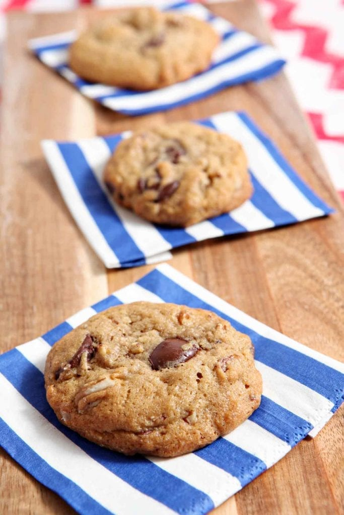 All-American Chocolate Chip Cookies are ooey, gooey and utterly ...