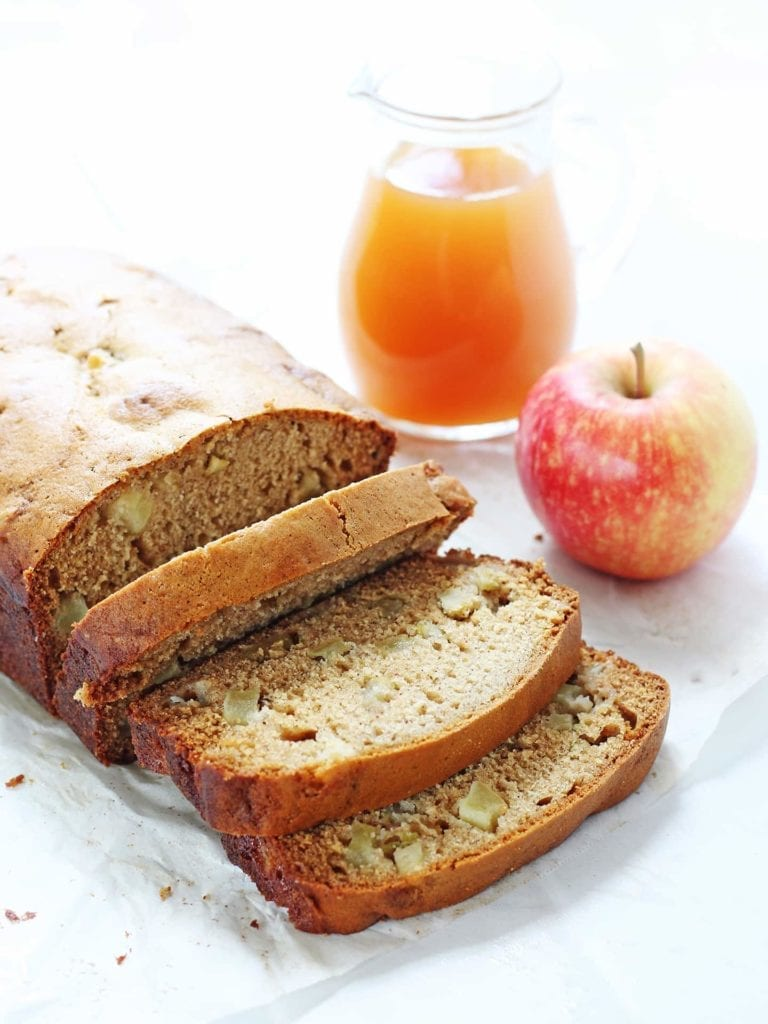 Loaded Apple Cider Bread from If You Give a Blonde a Kitchen