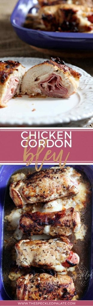 Looking for an easy weeknight meal? Make Chicken Cordon Bleu! | #ad | Chicken Cordon Bleu | Easy Dinner | Chicken Recipe | Easy Weeknight Meal | Ham Recipe | Swiss Cheese Recipe