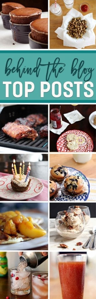 Collage of top 10 food and drink recipes