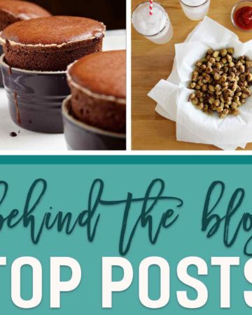 Learn a little more about The Speckled Palate in this year-long Behind The Blog Series! For the month of September, we are talking about our blogs' most popular posts. Ever wanted to know the top 10 recipes ever published on The Speckled Palate? Curious why I think they're popular? Interested in hearing about what I do when one of my recipes goes viral? Stop by today to learn the answers to these questions and more!