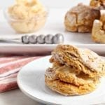 Vegan Pumpkin Biscuits with Maple Butter