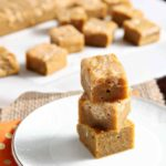Pumpkin Caramel Cream Cheese Swirl Blondies