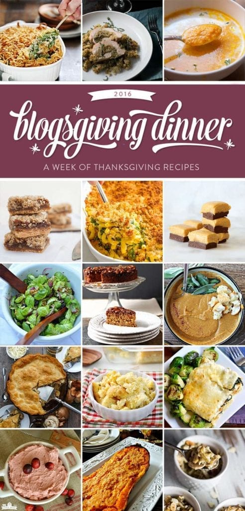 Come celebrate Blogsgiving with some of your favorite bloggers today!