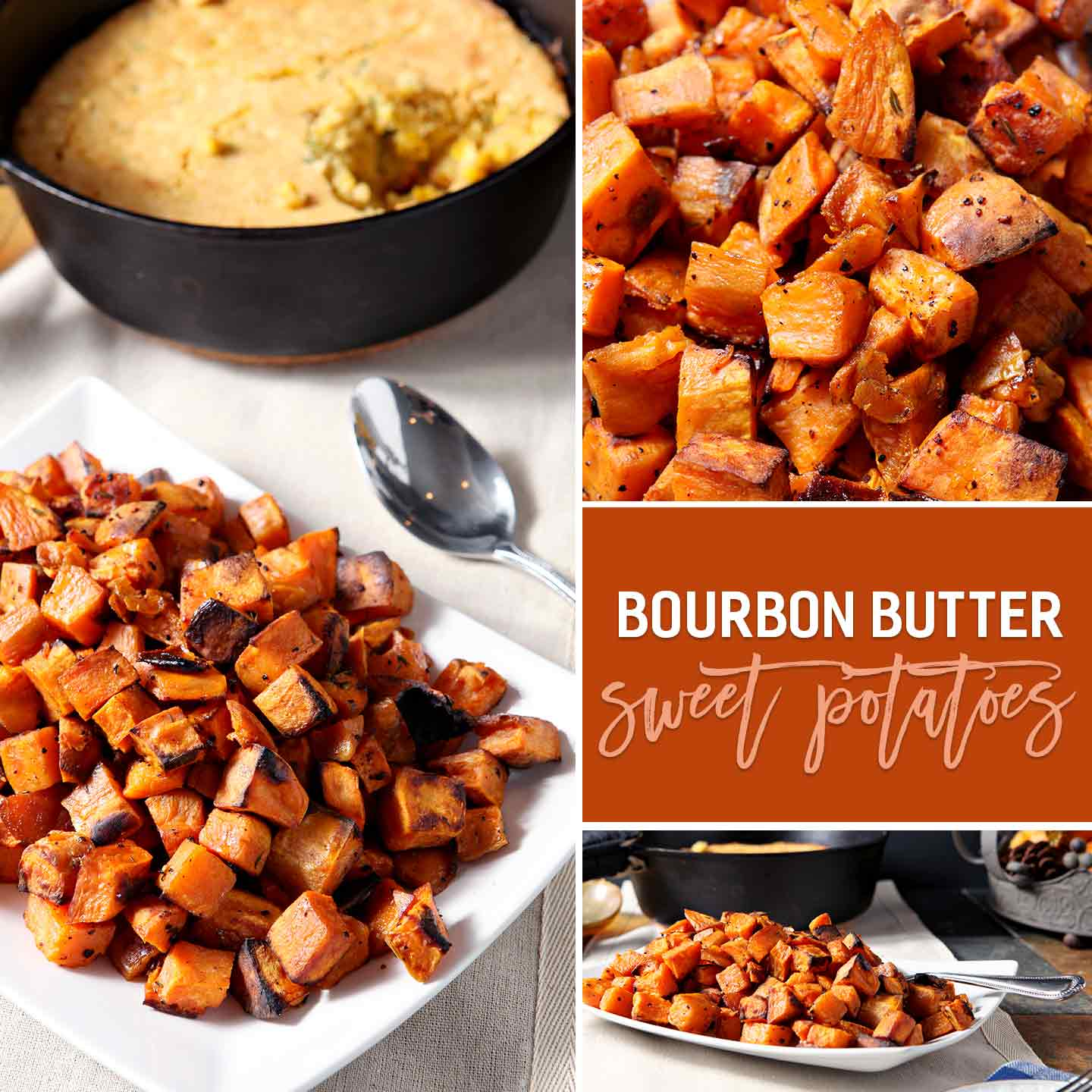Bourbon Butter Sweet Potatoes // The Speckled Palate