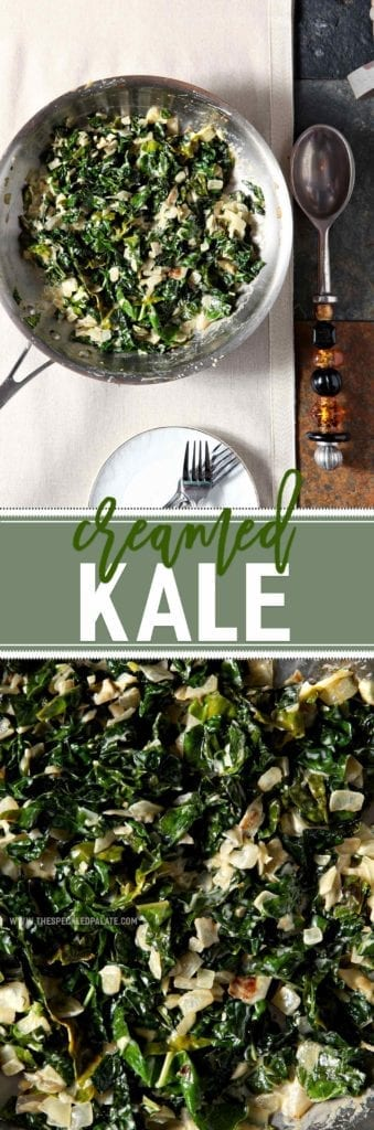 A twist on the classic, Creamed Kale is a creamy side dish to serve alongside turkey this season. This side comes together quickly and only requires a handful of ingredients. Warm olive oil in a skillet, then cook onion and garlic until translucent. Add kale, and sautŽ until wilted. Finally, add the cream, allowing the greens to soak it up, and serve the dish warm. Creamed Kale adds comforting deliciousness to any Thanksgiving or holiday feast.