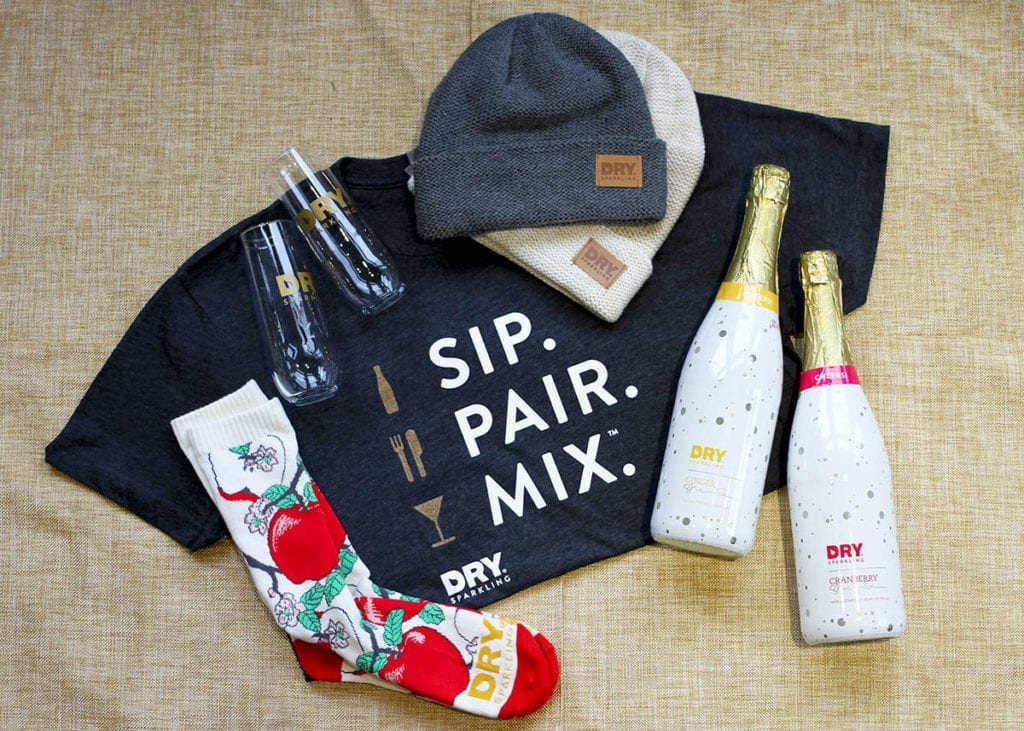 DRY Sparkling Giveaway 2016 Prize Package // The Speckled Palate