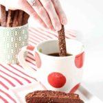 Chocolate Gingerbread Biscotti