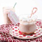 Mason Jar Peppermint Hot Cocoa Mix