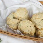 Quick Rosemary Drop Biscuits