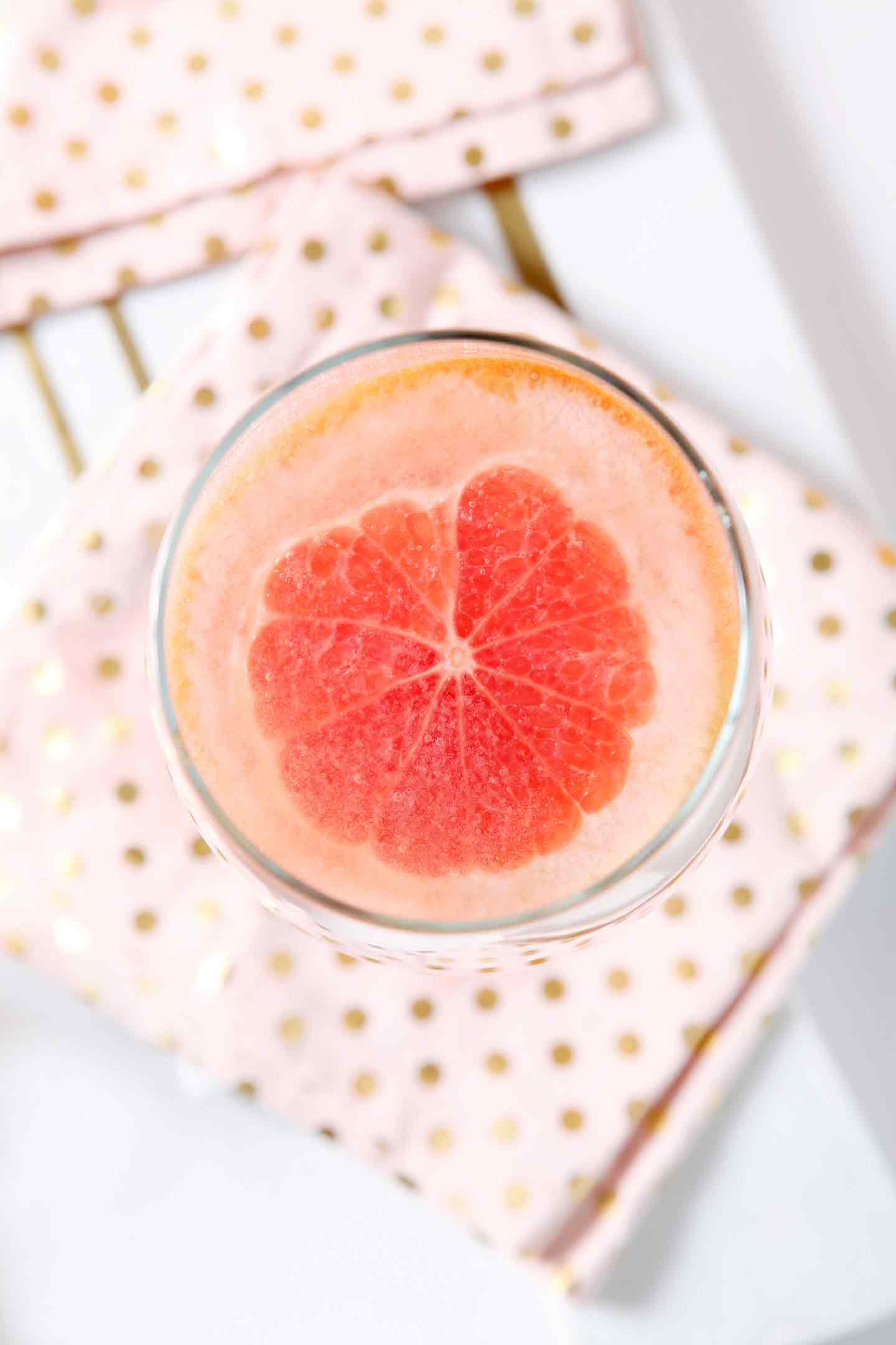 Celebrate seasonal produce by mixing this slightly sweet, yet delightfully tart Sparkling Grapefruit Sangria! Freshly squeezed pink grapefruit juice serves as the base of this cocktail, then a bottle of sauvignon blanc is added, along with Meyer lemon, blood orange and grapefruit slices. Chill before serving. Top individual glasses of sangria with Sprouts Farmers Market Sparkling Lemonade. Enjoy this sweet citrus goodness all winter long. #ad