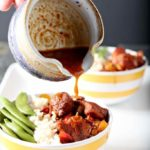 Honey Sriracha Chicken Rice Bowls