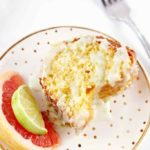 Paloma Citrus Cake with Tequila-Lime Glaze