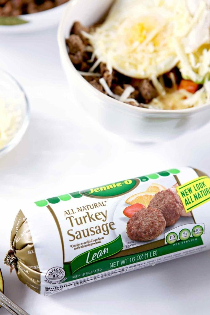 turkey sausage in a package