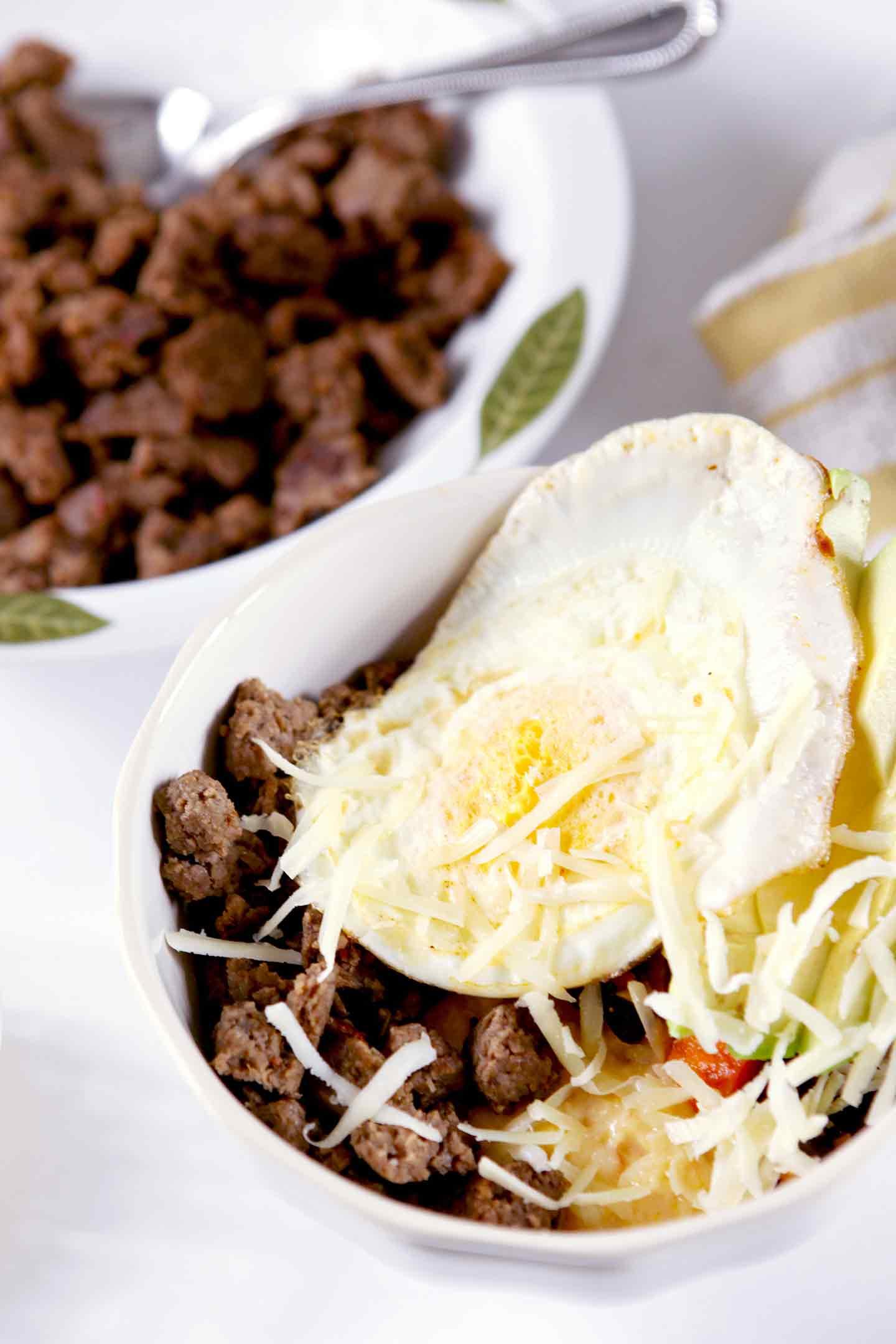 breakfast burrito bowl