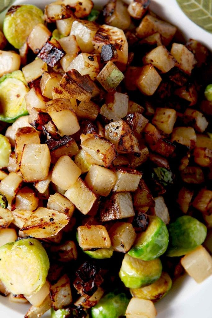 Let's make Winter Vegetable Hash! This hash features winter veggies ...