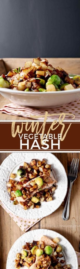Winter Vegetable Hash // The Speckled Palate