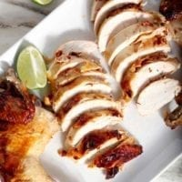 Monday's Dinner: Chipotle Lime Spicy Beer Can Chicken