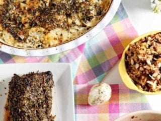 Mediterranean Scalloped Potatoes