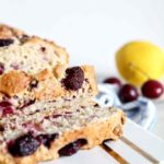 Fresh Cherry Quick Bread