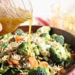 Ramen Noodle and Clementine Salad